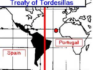 Treaty of Tordesillas (1494)