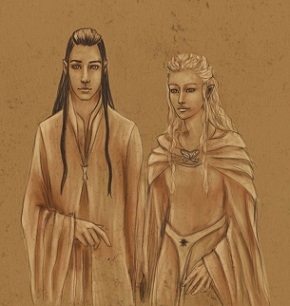 Elrond weds Celebrian (109 T.A.)