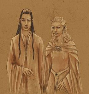 Elrond weds Celebrian (109 T.A.)