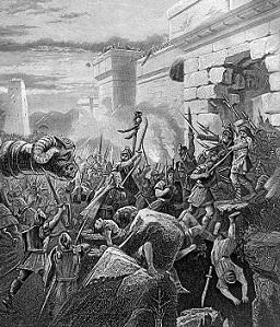 War between Kingdoms (ca. 932 B.C.)