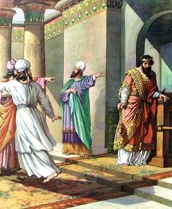 King Ahaz of Judah