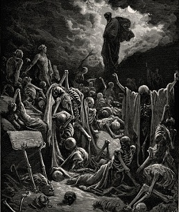 Vision of the resurrection of the dead