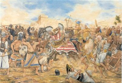 Battle of Megiddo (ca. 1457 B.C.)