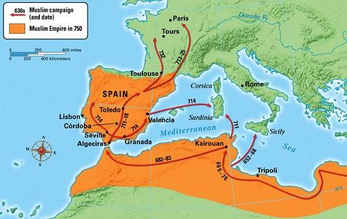 Umayyad conquest of Hispania (711-718)