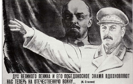 stalin was succeeded by lenin