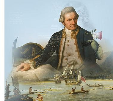 Capt. James Cook (1728-1779)
