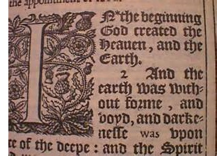 King James Bible English Civil War (1642-1651)