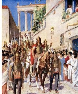 Rome Sacked again (410)