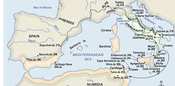 The Causes Of The Second Punic War