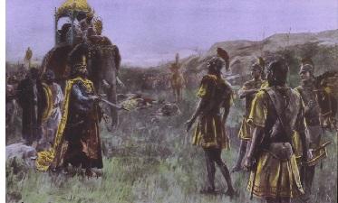 King Porus (ca. 340-317 B.C.)