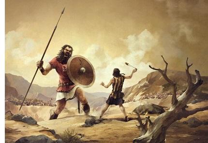 King David (ca. 1030-990 B.C.)