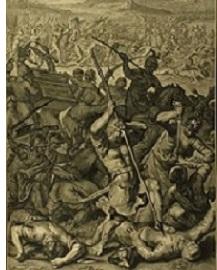 Philistines capture the Ark