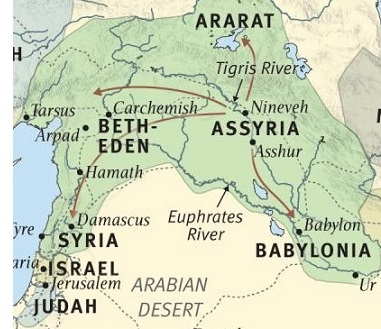 Assyria besieges Judah
