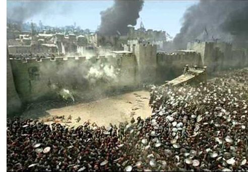 Assyria besieges Judah