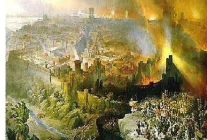 Jerusalem destroyed (586 B.C.)