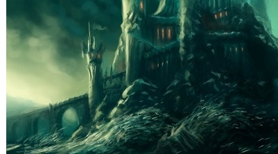Sauron builds Barad-dur