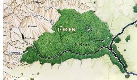 Lothlórien (ca. 1350 S.A.)