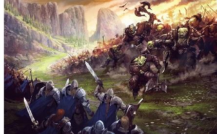 Sauron retreats