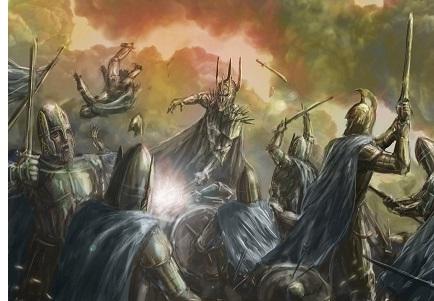 Siege of Barad-dûr (3434 S.A.)
