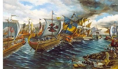 Battle of Salamis (480 B.C.)