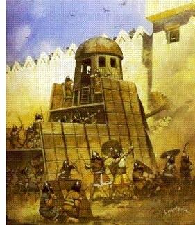 Fall of Nineveh (612 B.C.)