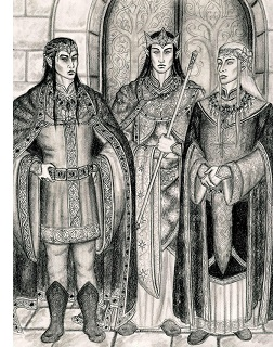 Fëanor, Fingolfin and Finarfin