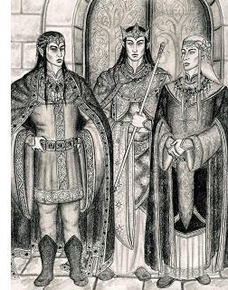 Fëanor, Fingolfin and Finarfin